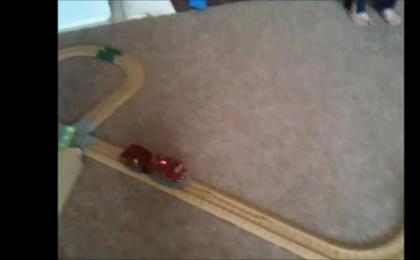 The Automatic Return Marble Track