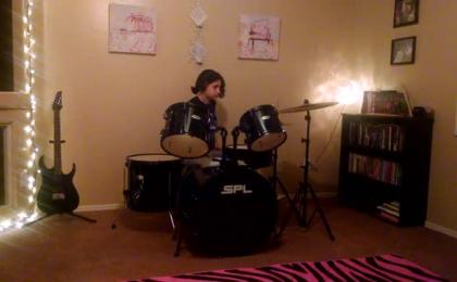 Adele Drum Cover By Ivy