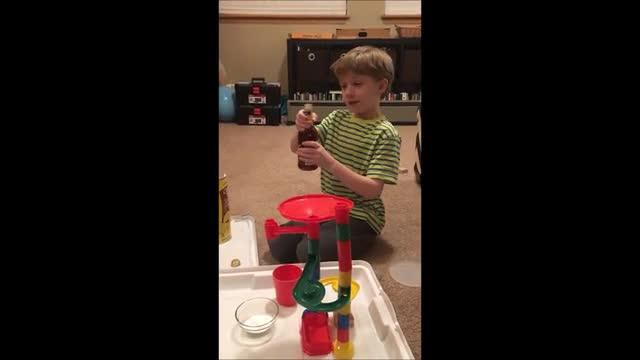 The Lemonade + Explosion Machine