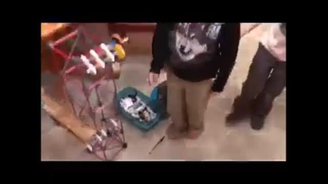 STEM project: Rube Goldberg Machine