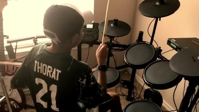 "Drum Cover by Joshua Liam Thorat (2018) ""Feel it"" by TobyMac"