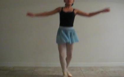 Ballet is my life. Ballet = Me