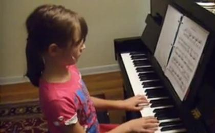 Music in my daughter's life